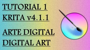 Krita Video Tutorial 1 (subt. in 7 languages) by Fractalico