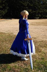 Saber::Body of Swords, Blood of Iron by YouseiCosplay
