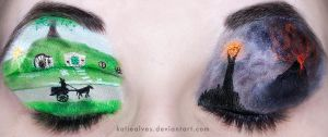Lord of the Rings Eyes by KatieAlves