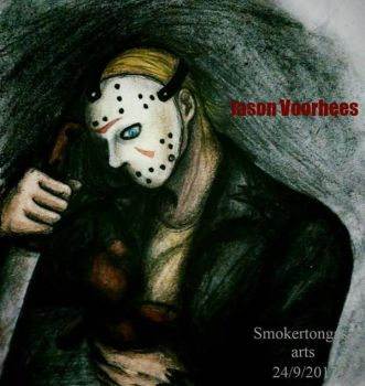 Friday the 13rd: Jason Voorhees by Smokertongas-arts