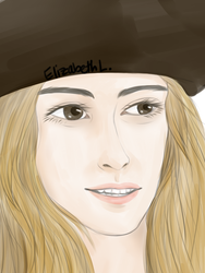 Keira Knightly from Pirates of the Caribbean by xXAiStrawberryXx