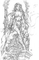Witchblade Commission by keucha