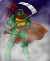 Raph the Reaper by Tigerfog by tmntart