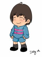 Frisk by Dilly-Oh