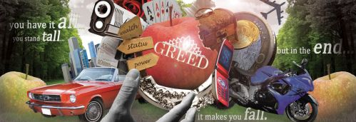 Greed will make you fall by RyoKuXaZ