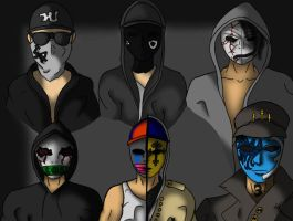 The Band In Hollywood Undead (re-make) by Rejzan
