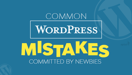 Common WordPress Mistakes Committed by Newbies by jameswilliam723