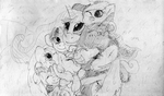 Cuddle puddle for Royalty by Billblok