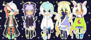 THEY CAME FROM OUTER SPACE! Adopts [CLOSED] by MnemosyneXPowerhouse