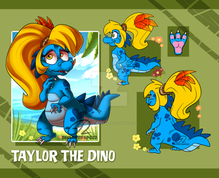 Dino Taylor - Ref Sheet 2018 by TaylorTrap622