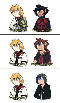 [KH] I'm not sorry. by CloudlessDream