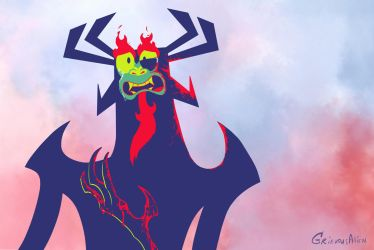 Aku Expressions: was it... love? ver 2 by GrievousAlien