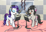 Charity Commission - Singing in the Studio by muffinshire