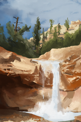 Daily Sketch #0060 - Nature Study by GhostlyCarrot