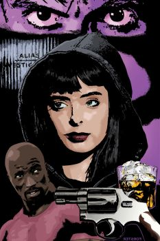 Guns, Booze and Jessica Jones by BillForster