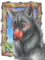 Framed - ACEO Trade by PoonieFox
