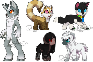 Chibi Comms Batch by Noxivaga