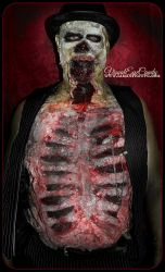 What Time is it zombie spfx makeup by samanthawpg by VisualEyeCandy