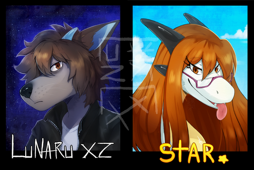 Badges by LunaruXZ