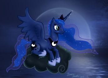 Luna on the Lake by Nikzt