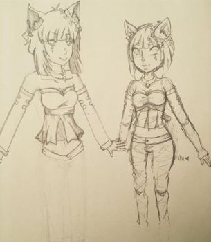 WIP OC Lacey by SolbiiMelody