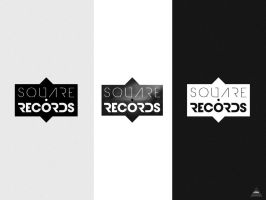 Square Records logotype by elka