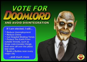 Doomlord For Prime Minister by MalcolmKirk