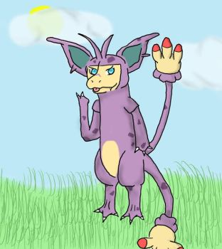 Nidopom Evolved Form by Nefepants