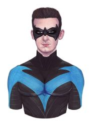 Nightwing Self Portrait by MattSimas