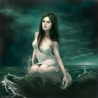 The Blue Sea by blacklady-vip