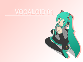 Hatsune Miku - Vocaloid 01 by Purly