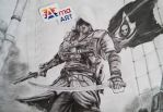 Assassin's Creed IV Black Flag - Edward Kenway by AmaArt02