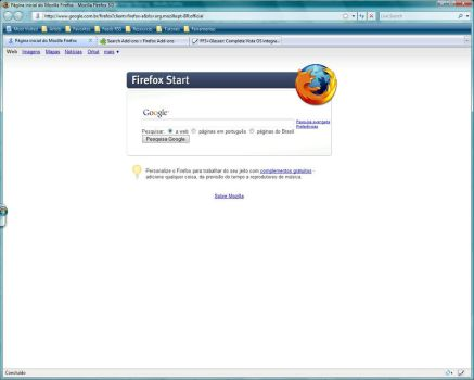 My vista Firefox3 by pok3