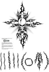 Free Vector Thorns Pack by artamp