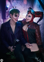 Harley and Joker (Injustice 2) 4 by ThePuddins