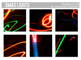 Xmas Light Textures 100x100 by Tarla