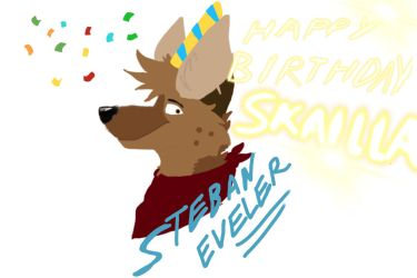 Late birthday picture for skailla by jacksonwolf0224