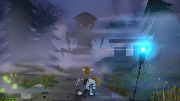 Wrong road, Littlepip. by Twotail813