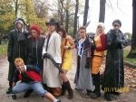 Cosplay FF VIII with KH II by Sommum