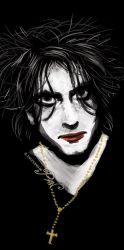 Robert Smith the Crow by Panaiotis