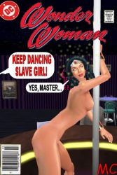 Wonder Woman Captured At Club Hypno by The-Mind-Controller
