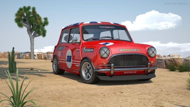Mini Cooper rally3 by RJamp