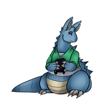 Reverse Gijinka Collab: Maya is now a Nidoqueen by JustMiri