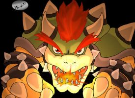 Bowser by Anchony