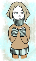 Art Request #4: Sweater Lalli by pinearts