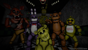 [SFM] Five Nights at Freddy's - Family of Trees by TF541Productions