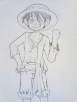 Luffy by QuackingMoron