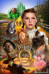 THE WIZARD OF OZ - PAINTED MOVIE POSTER by kyle-lambert