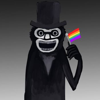 The Babadook Is Gay by Catofawesome12