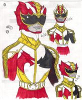 Kemonoranger Power Up Concept by DynamicSavior